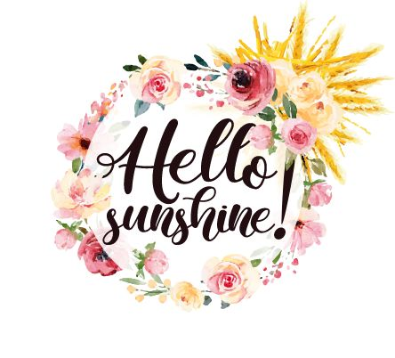 logo Hello sunshine !